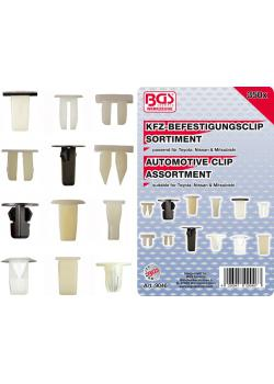 Car clip range - Toyota - Nissan and Mitsubishi - 350 pcs.