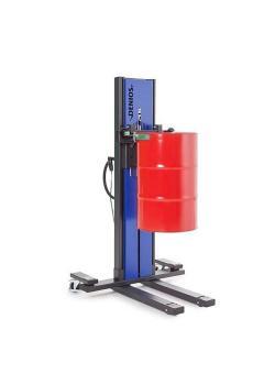 Sollevatore fusti Secu Drive tipo SK - telaio stretto - sollevamento elettrico - per fusti da 200 e 220 litri