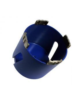 Bohrkrone Diamant - für Steckdosenplätze - M 16 - Durchmesser 68 bis 82 mm