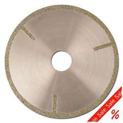 Resztki - brzeszczot - diamentowa Ø 100 mm, zewnętrzna - Ø 22,23 mm Wlot - szerokość cięcia 2,5 mm