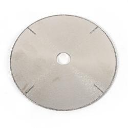 Trennscheibe diamantbeschichtet - mit geschlossenem Rand und 4 Seitenstreifen