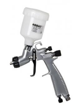 HVLP Farbspritzpistole 1,0 mm+125CC Kunstoff Fliessbecher