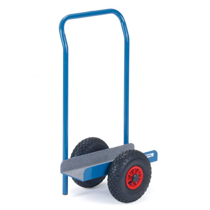 Plate roller - in U-shape - with investment and handlebar