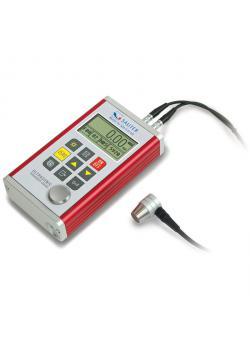 Ultraääni Paksuusmittari - ulkoinen anturi - max. Mittausalue 0,75 jopa 300 mm:
