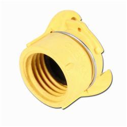 Clemco Düsenhalter Nylon - für Strahldüsen mit 50 mm Kordelgewinde - Schlauch-Ø 19 x 7 bis 38 x 9 mm