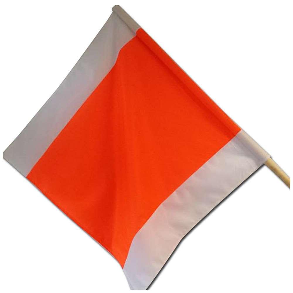 Flaga ostrzegawcza z patykiem