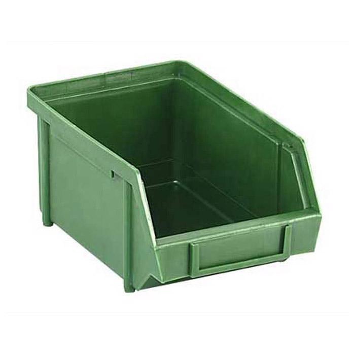 Sichtlagerkasten - Farbe grün - Zusammensetzbar