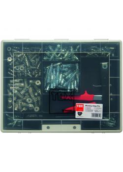 Dowel range - Piece 197 -. Various hollow wall anchors -.. Including assembly tool - TOX Pro installer