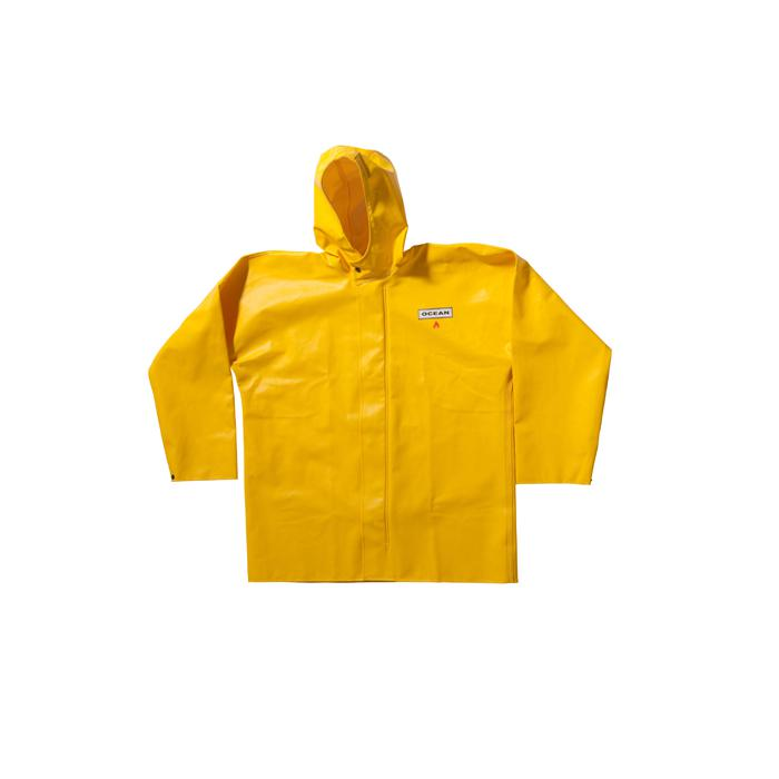 """Raincoat - Ocean """"Classic"""" - Size S to 8XL - Color Yellow"""