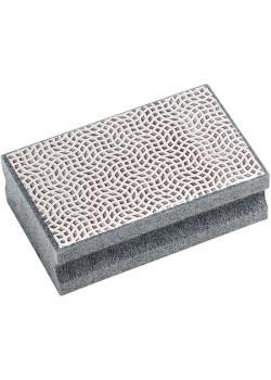 Slip pad - Häst - diamant - kornstorlek 126 - svart