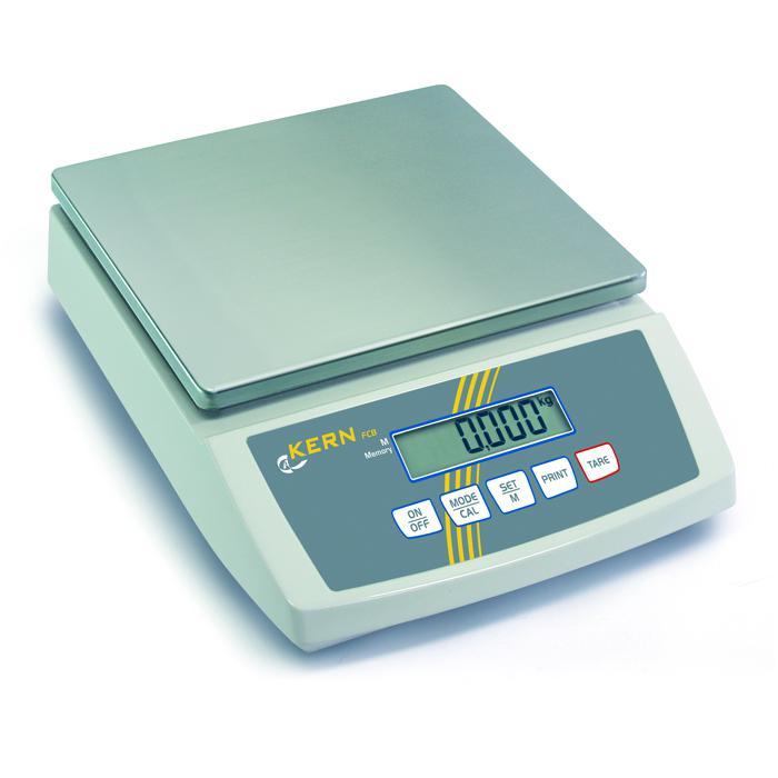 Waage - max. Wägebereich 3 bis 30 kg - Ablesbarkeit [d] 0,1 bis 2 g - Tischwaage