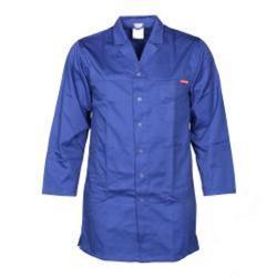 Arbetsrock Planam - 35/65% blandväv - 260 g/m² - storlek 26 - blå