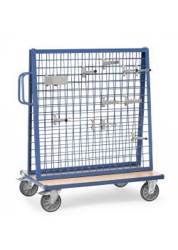Chariot de marchandises - Capacité 600 kg - chargement bilatéral