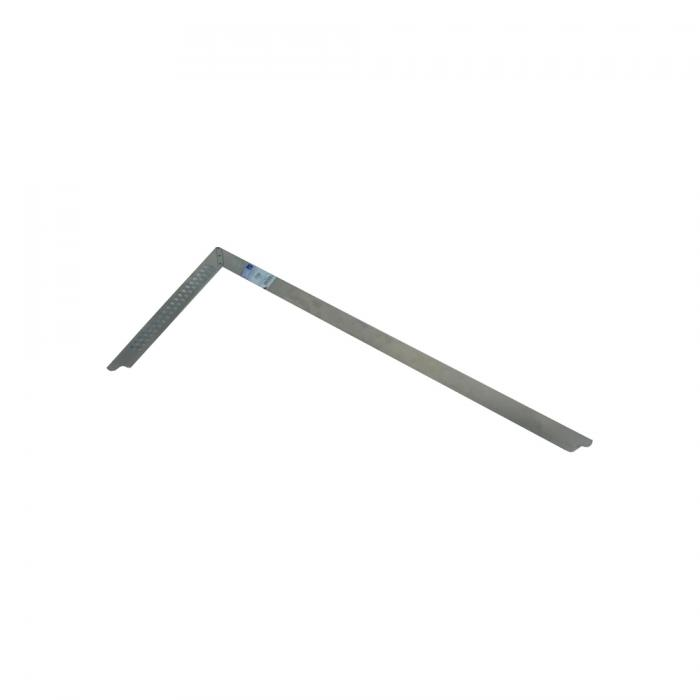 Zimmermannswinkel - rostfreier Stahl - mit Anreissloch - 600 bis 1000 mm