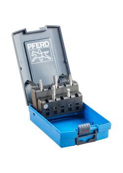 Frässtifte-Set - PFERD - 5 Hartmetallfrässtifte - Schaft-Ø 6 mm - Z3 PLUS Zahnung