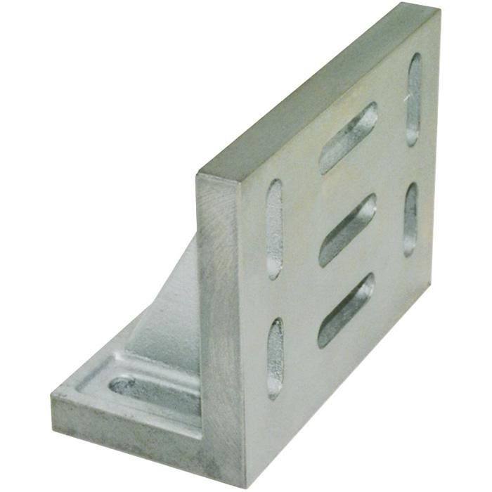 Aufspannwinkel - mit Langlöchern - DIN 876/3 - Gusseisen - geschichtet