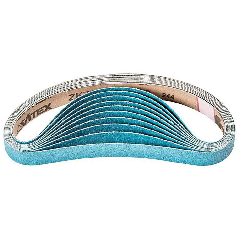 Schleifband - PFERD - Zirkonkorund Z - Korngröße 40 bis 80 - versch. Maße - VE 20 und 100 Stk. - Preis per VE
