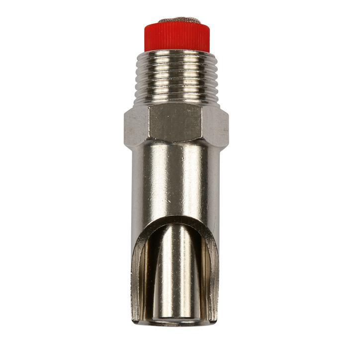 Beißnippel - Edelstahl - Ø Gewinde 1/2 bis 3/4 Zoll - 11 bis 12 mm - Länge 61 bis 77 mm