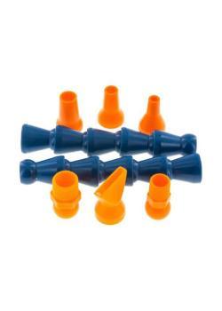 """Kühlmittel-Gelenkschlauchsystem Cool-Line Set 1/2"""" - 2 Gelenkschlauchstücke á 130 mm (2 x 5 Module) - 2 Gewindeanschlüsse R 3/8 und R 1/2"""""""