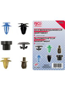 Car clip range - for Opel - 300 pcs.
