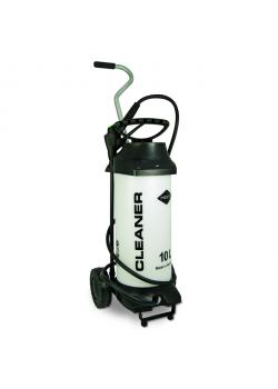 "Sprayer ""CLEANER"" - with trolley - with FPM gasket - Capacity 10 liters - Total capacity 12.5 l"