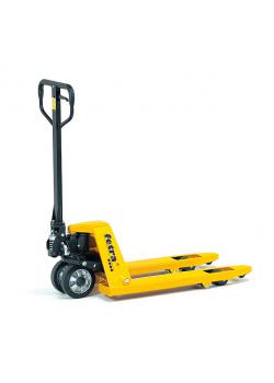 Pallet trucks - steering wheels made of solid rubber - short version
