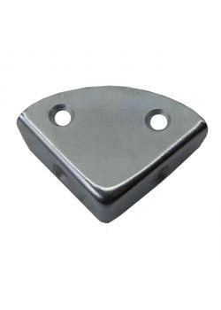 Kistenecke (Schutzecke) - DIN 7469 - flache Form (B) - verzinkt - 25 Stück