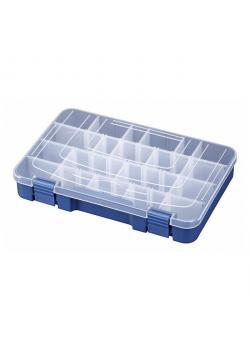 Kasten - aus Polypropylen - blau transparent
