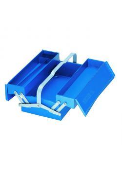 Werkzeugkasten - ohne Werkzeug - 3 Fächer - Stahlblech