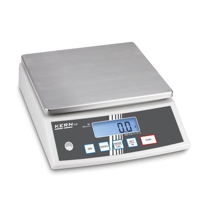 Waage - max. Wägebereich 3 bzw. 30 kg - hohe Genauigkeit