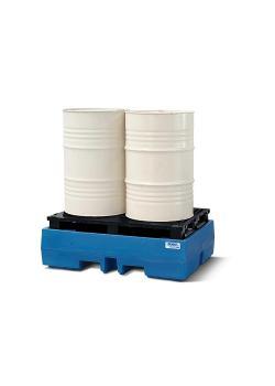 Vassoio di raccolta PolySafe ECO - polietilene - volume di raccolta 245 o 270 l - per fusti da 1 o 2 200 litri