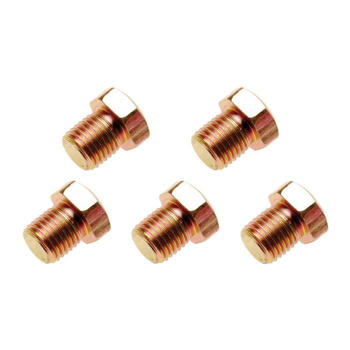 bouchons de vidange d'huile - fil M13 x 1,5 à M20 x 1,5 - 5 pièces