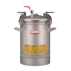 SATA FDG 48N - mit Einfachdruckminderer, Druckluftrührwerk mit Getriebe - Materialdruckbehälter