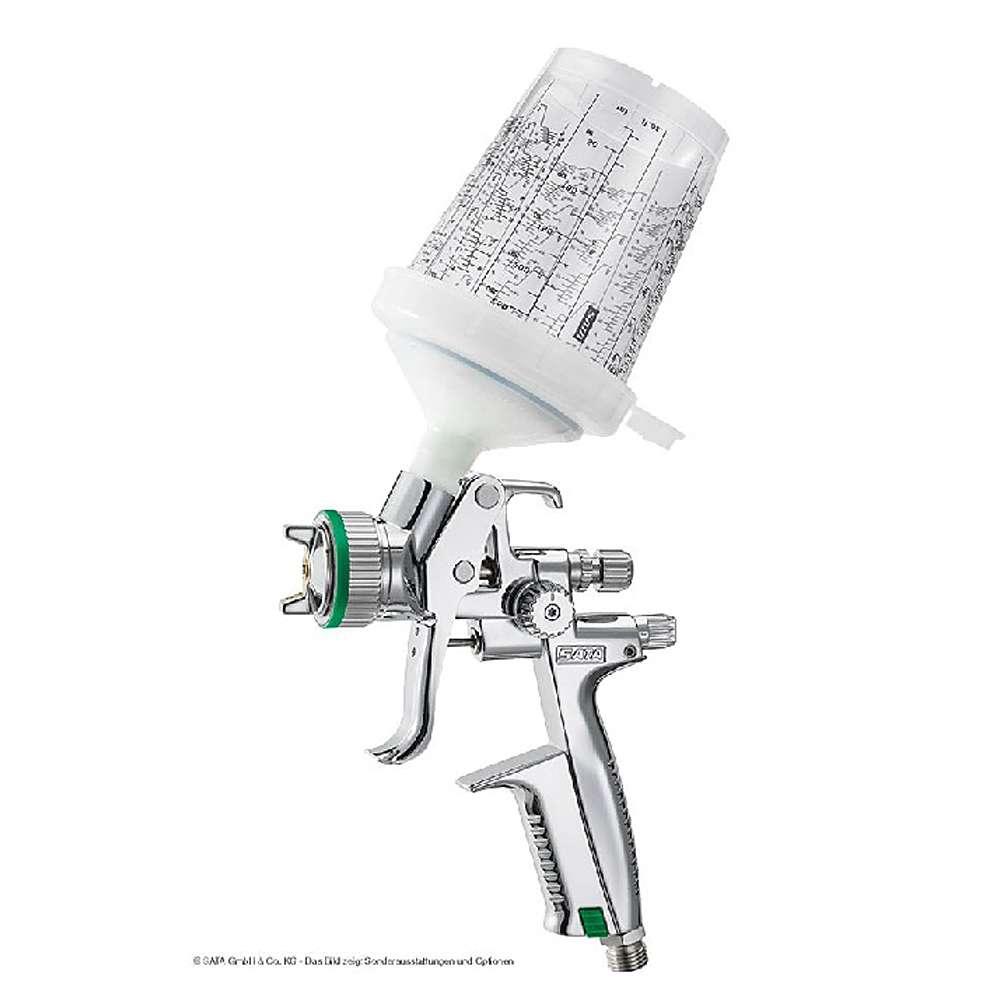SATAminijet 4400 B HVLP SR - Lackierpistole - RPS Einwegbecher 0,3 l - für KFZ und Industrie