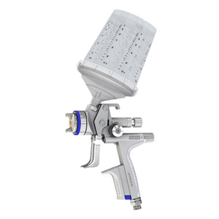 SATAjet 5000 B RP - Lackierpistole - RPS Einwegbecher 0,3-0,9 l - mit Drehgelenk – für KFZ, Maler, Tischler und Industrie