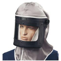 SATA-Haube mit Kopf-Brusttuch über Kalotte - Atemschutz - SATA vision 2000