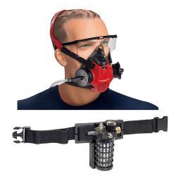 SATA Atemschutzset - Atemschutz - SATA air star C, Gurteinheit mit Aktivkohleadsorber, Luftregelventil, Einwegkapuze