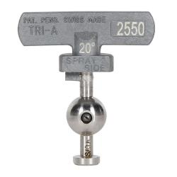 Wendedüse 2550 - für Wendeschalter- SATAjet 3000 K spray mix Pistole 0,25 mm