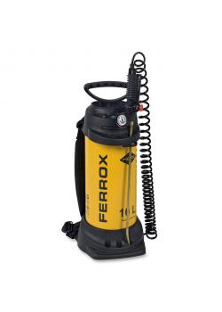 """Spruzzatore ad alta pressione """"FERROX"""" - con guarnizione NBR - 6 bar - capacità di riempimento 10 l - capacità totale 13 l"""