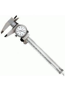 Urskjutmått - DIN 862 - Mätområde 150 mm - Rostfritt stål