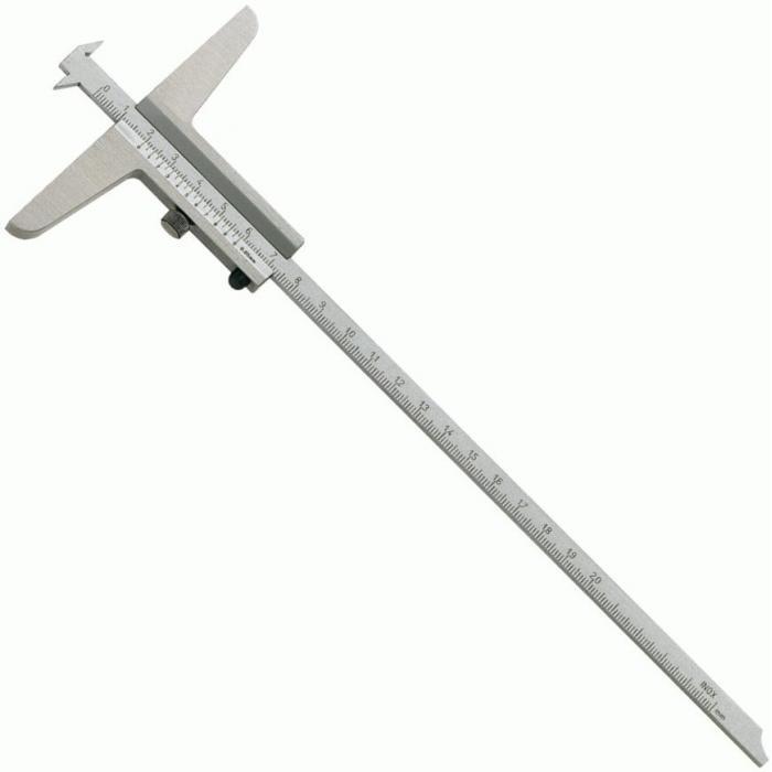 Breiten-und Abstands Tiefenmessschieber - DIN 862 - 200/300 mm