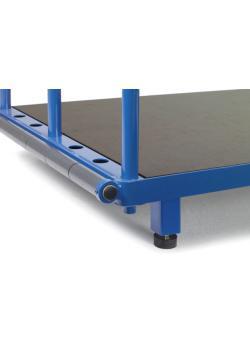 4 pieds de palette - Dégagement hauteur 100 mm - pour les chariots élévateurs