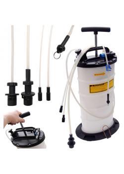 Druckluft-Bremsenentlüfter und Ölabsauggerät - 7,5 l Behälter