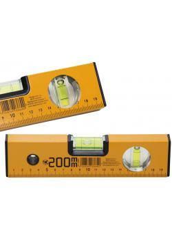 Wasserwaage - mit 1 mm Maßeinteilung - Länge 200 mm