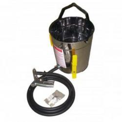Injektor-Freistrahlgerät - 11 l Stahlbehälter - min. 350 l Luftleistung - einfache Strahlpistole