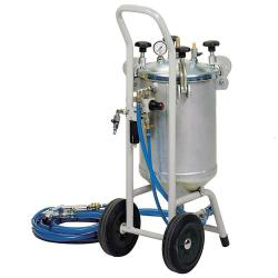 Pressure-blasting unit - 5 to 8 bar - 24 l - 0.2 to 0.8 mm Krnung