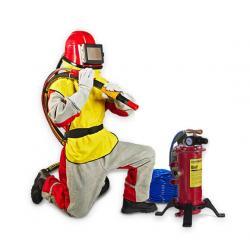 Skyddsvärmare - SafePack-Comfort - andningsluftsslang 9 x 15 - längd 20 m - storlek 54 - komplett paket