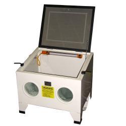 Strahlkabine Hobby Tischgerät - Außenabmessungen 630 x 485 x 495 mm - Gewicht 22 kg