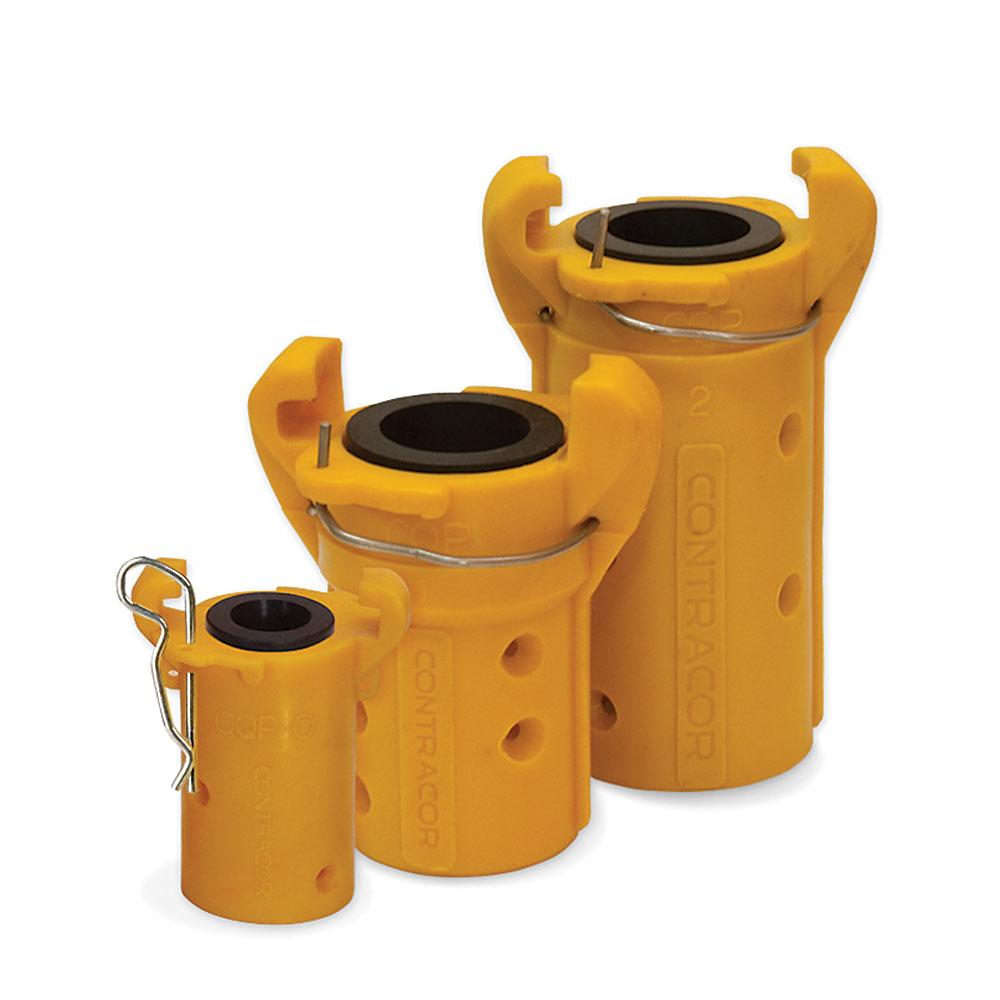 Schlauchkupplung CQP Nylon - Schlauch-Ø 13 x 27 bis  32 x 48 mm