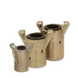 Raccord de tuyau CQT - fonte malléable - pour tuyau Ø 25 x 39 ou 32 x 48 mm